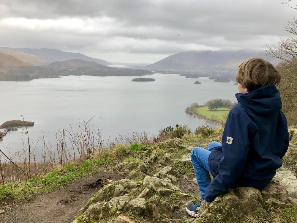 Lake District uitzicht