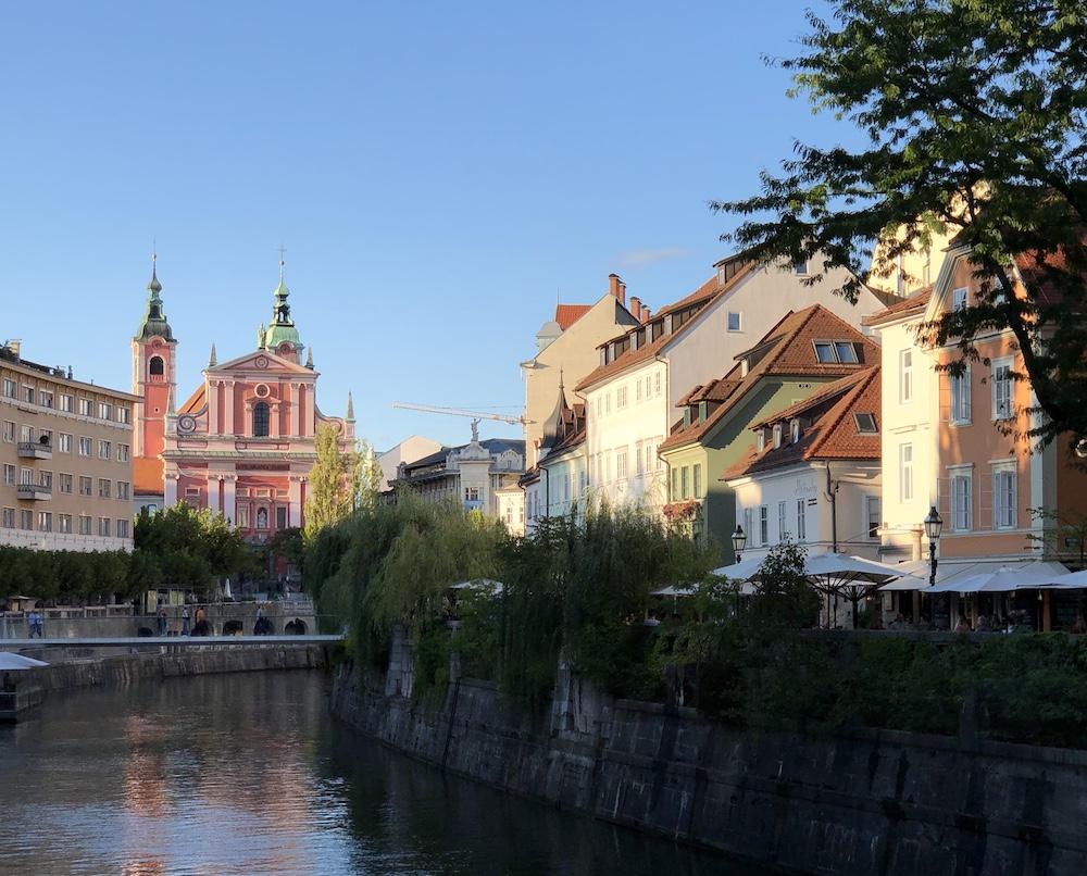 wandelen Ljubljana