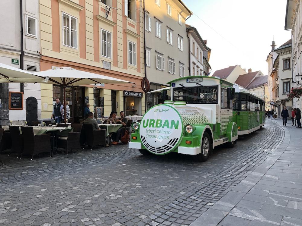 kasteel Ljubljana wandelen